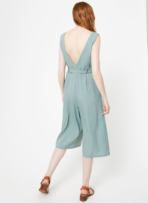 Vêtements Yuka Combinaison Lila Vert vue portées chaussures