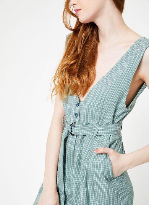 Vêtements Yuka Combinaison Lila Vert vue face