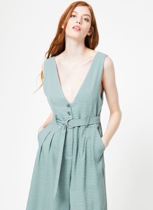 Vêtements Yuka Combinaison Lila Vert vue droite