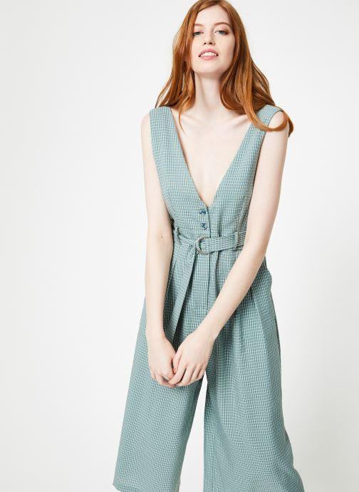 Vêtements Yuka Combinaison Lila Vert vue détail/paire