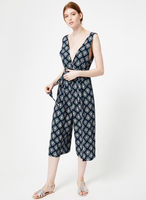 Vêtements Yuka Combinaison Mandy Bleu vue bas / vue portée sac