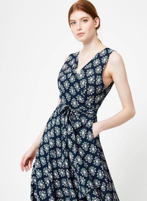 Vêtements Yuka Robe Augusta Bleu vue droite