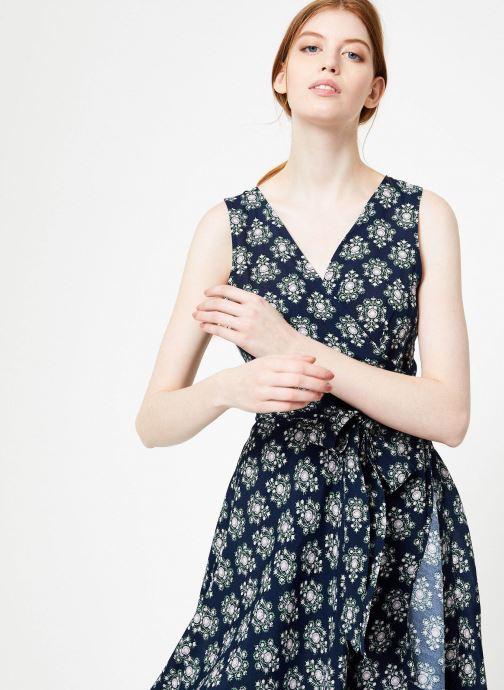 Vêtements Yuka Robe Augusta Bleu vue détail/paire
