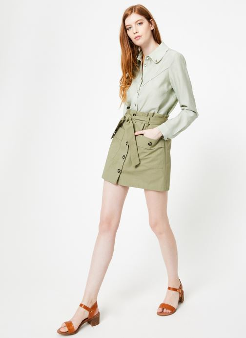 Vêtements Yuka Chemise Oceane Vert vue bas / vue portée sac