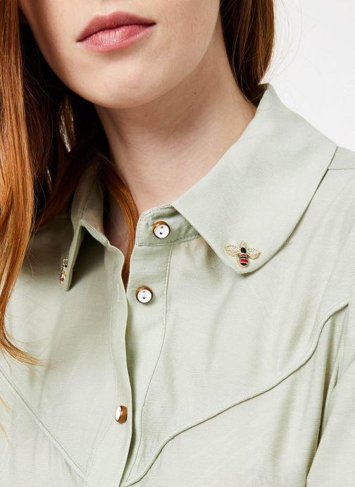 Vêtements Yuka Chemise Oceane Vert vue face