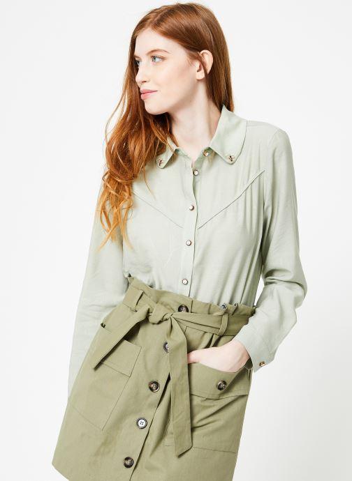 Vêtements Yuka Chemise Oceane Vert vue droite