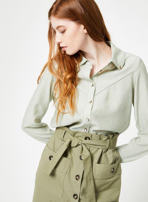 Vêtements Yuka Chemise Oceane Vert vue détail/paire