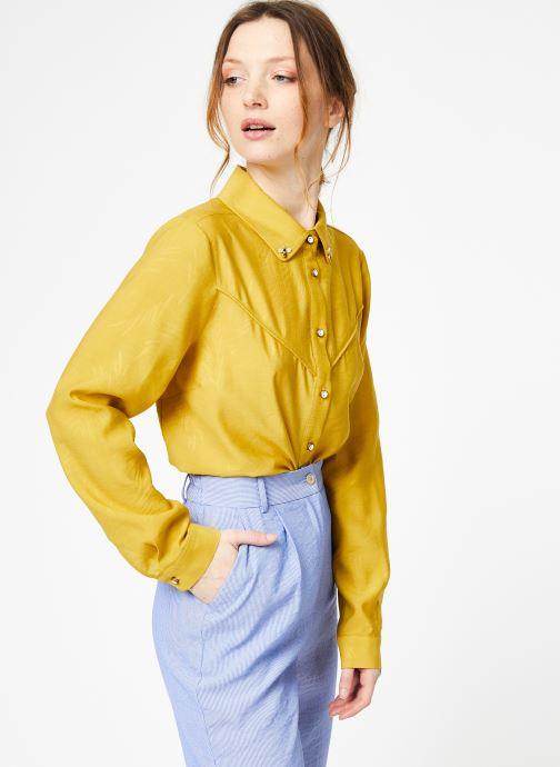 Vêtements Yuka Chemise Oceane Jaune vue droite
