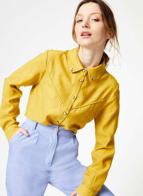 Vêtements Yuka Chemise Oceane Jaune vue détail/paire
