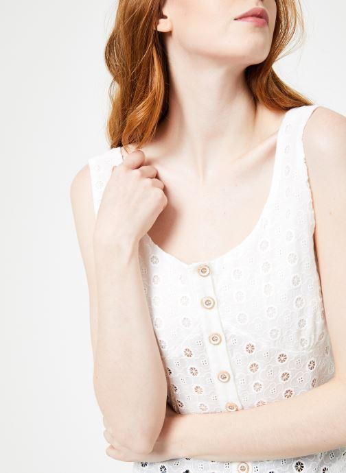 Vêtements Yuka Top Maya Blanc vue face