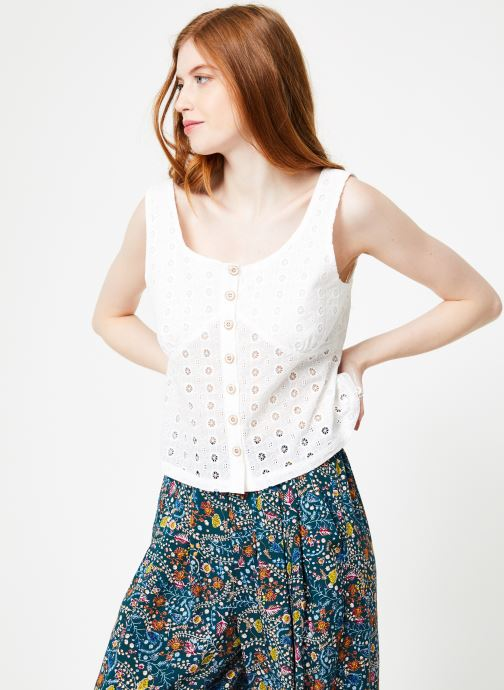Vêtements Yuka Top Maya Blanc vue droite