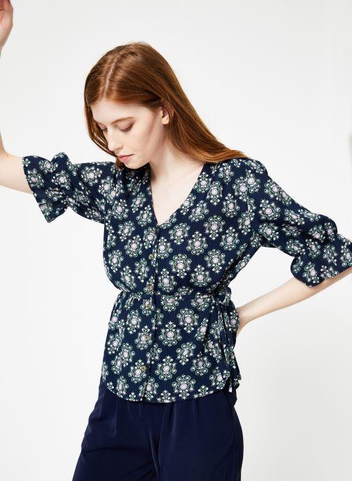 Vêtements Yuka Top Sylvania Bleu vue détail/paire