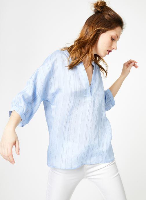 Vêtements Yuka Top Elyna Bleu vue détail/paire