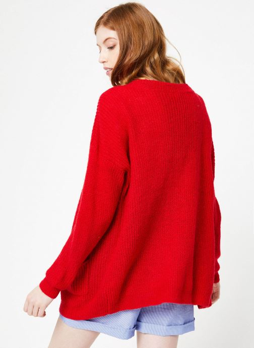 Laly Yuka Gilets VêtementsPulls Red Et Cardigan PXZuiOk