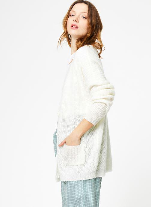 Yuka Laly Cardigan VêtementsPulls Gilets Ivory Et htCxsQdr