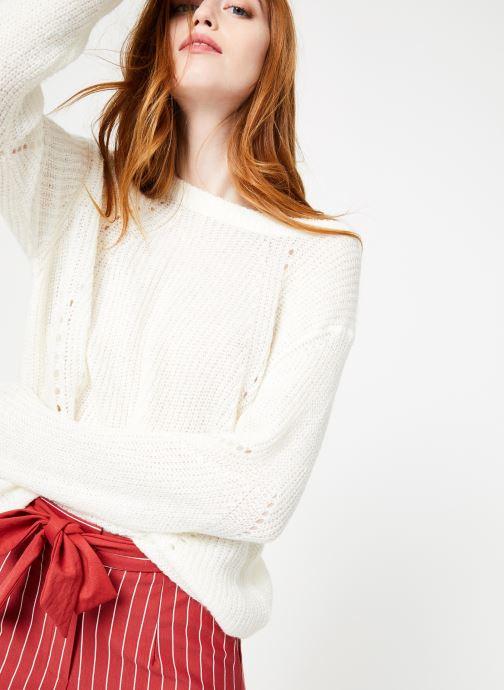 Vêtements Yuka Pull Helen Blanc vue détail/paire