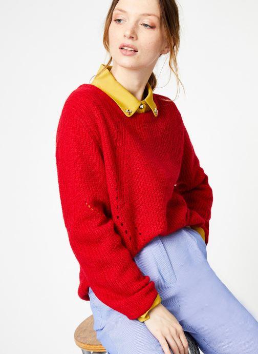 Vêtements Yuka Pull Helen Rouge vue détail/paire