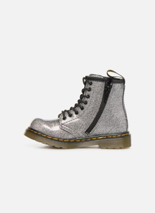 Boots en enkellaarsjes Dr. Martens 1460 Glitter T Zilver voorkant