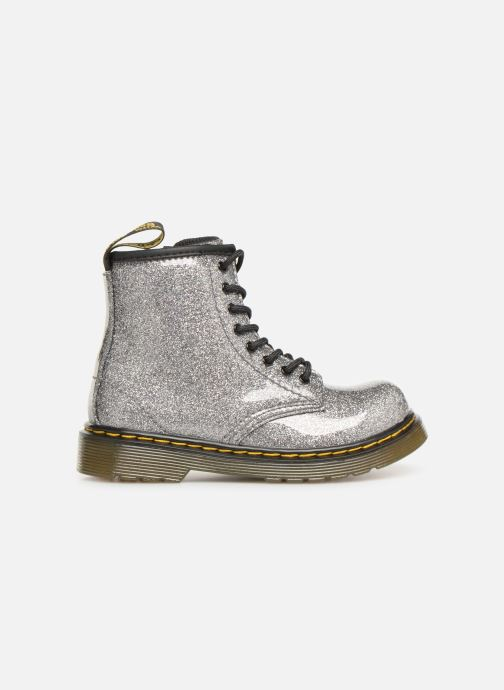 Ankle boots DR. Martens 1460 Glitter T Silver back view