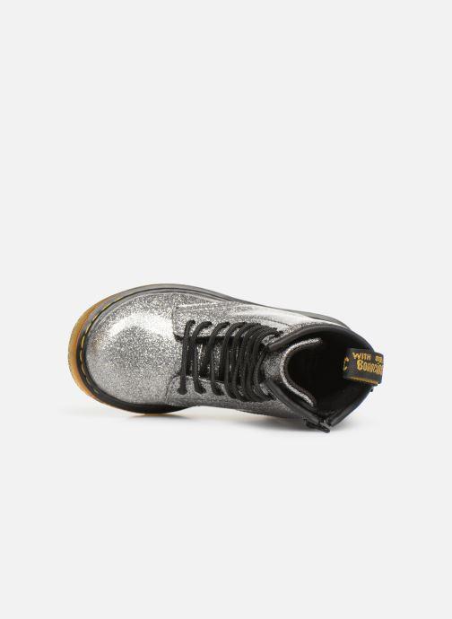 Boots en enkellaarsjes DR. Martens 1460 Glitter T Zilver links