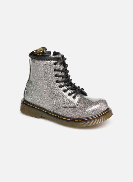 Bottines et boots Dr. Martens 1460 Glitter T Argent vue détail/paire