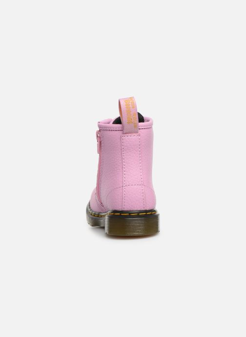 Ankle boots DR. Martens 1460 Pbl T Pink view from the right