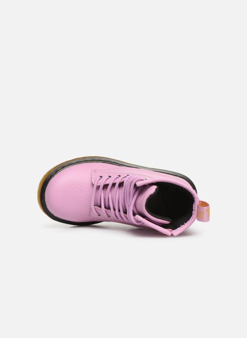 Ankle boots DR. Martens 1460 Pbl T Pink view from the left