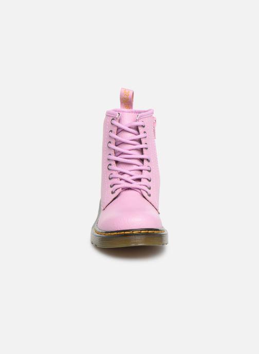 Stiefeletten & Boots Dr. Martens 1460 Pbl J rosa schuhe getragen