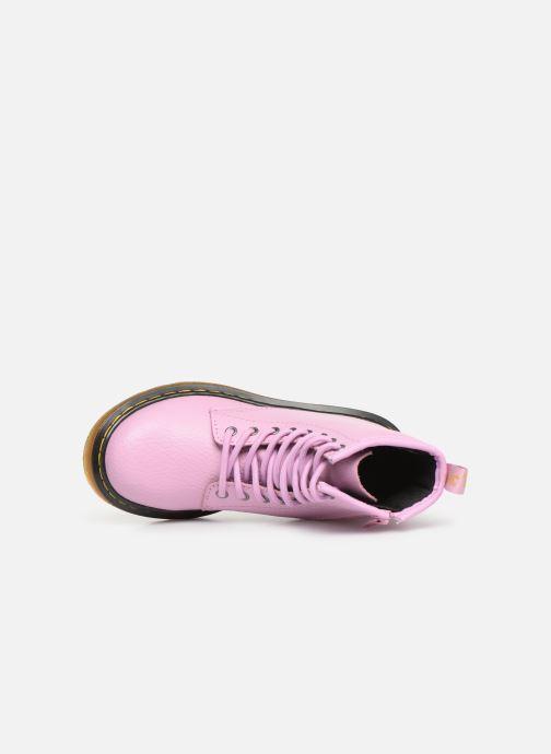 Stiefeletten & Boots Dr. Martens 1460 Pbl J rosa ansicht von links
