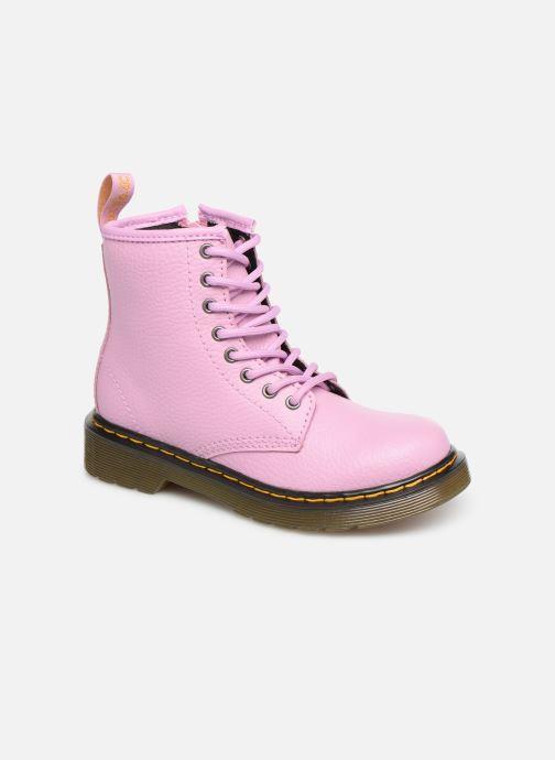 Stiefeletten & Boots Dr. Martens 1460 Pbl J rosa detaillierte ansicht/modell