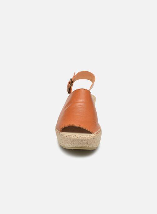 Espadrilles Shoe the bear Alice L Marron vue portées chaussures