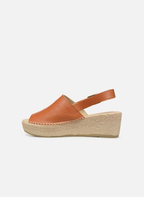 Espadrilles Shoe the bear Alice L Marron vue face