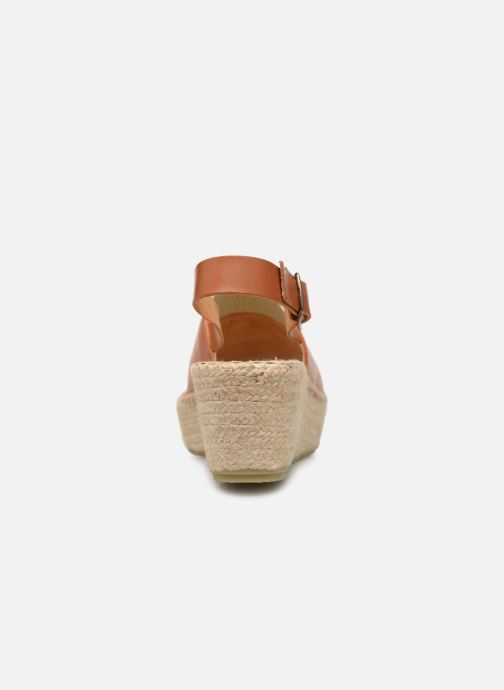 Espadrilles Shoe the bear Alice L Marron vue droite