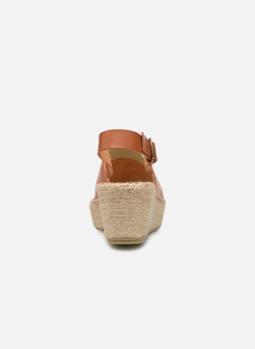 Espadrilles Shoe the bear Alice L Marron vue droite