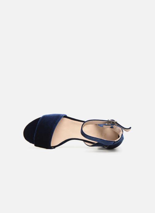 Sandales et nu-pieds Shoe the bear May V Bleu vue gauche