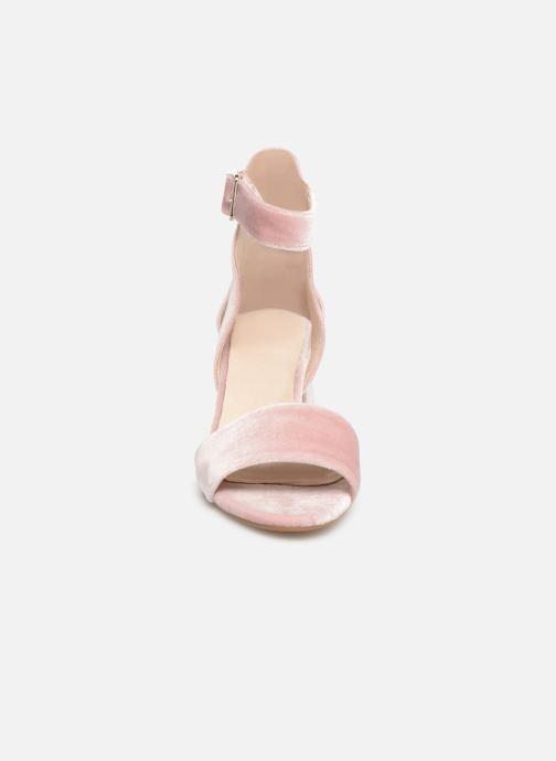 Sandales et nu-pieds Shoe the bear May V Rose vue portées chaussures