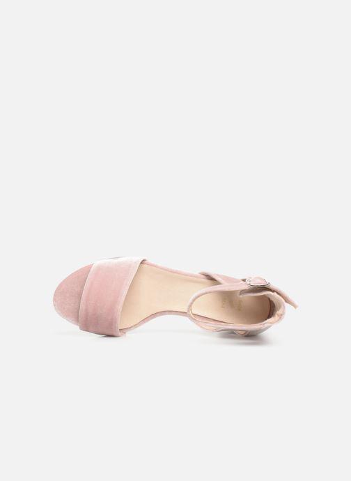 Sandales et nu-pieds Shoe the bear May V Rose vue gauche