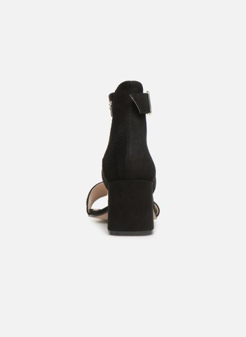 Sandales et nu-pieds Shoe the bear May Studs Noir vue droite