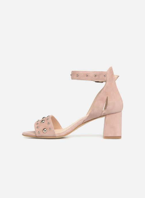 Sandalias Shoe the bear May Studs Rosa vista de frente