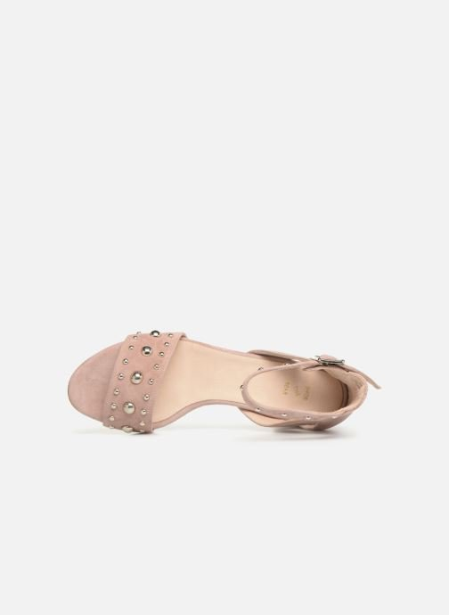 Sandalias Shoe the bear May Studs Rosa vista lateral izquierda