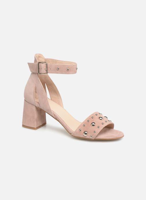 Sandales et nu-pieds Shoe the bear May Studs Rose vue détail/paire