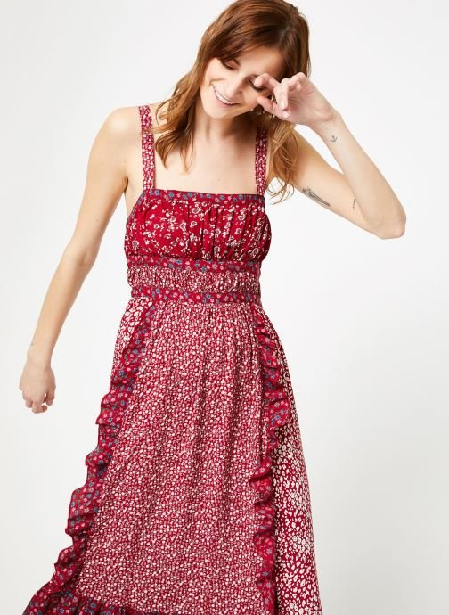 Kleding Free People YESICA MAXI Rood detail