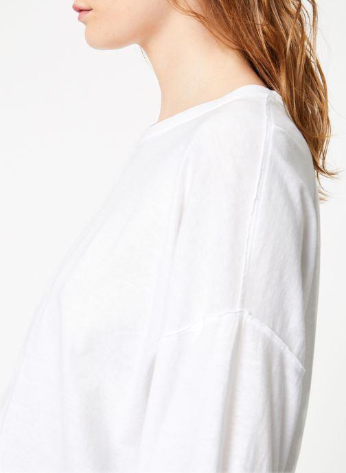 Vêtements Free People DENVER LONG SLEEVE Blanc vue face