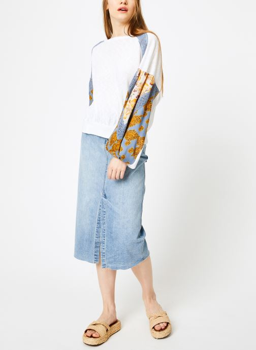 Vêtements Free People CASUAL CLASH TOP Blanc vue bas / vue portée sac