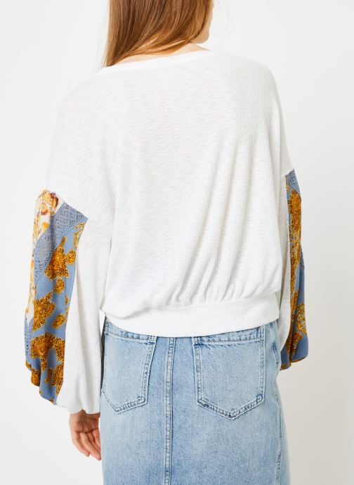 Kleding Free People CASUAL CLASH TOP Wit model