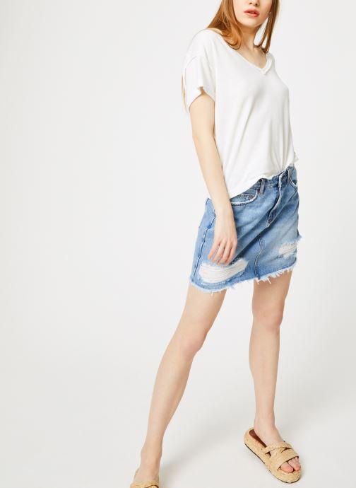 Vêtements Free People ALL MINE TEE Blanc vue bas / vue portée sac