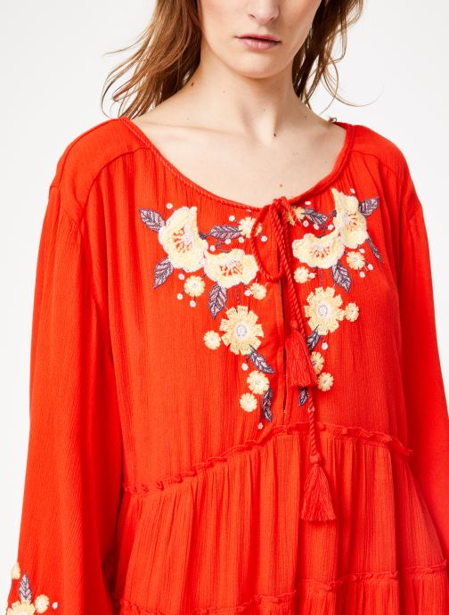 Vêtements Free People SPELL ON YOU EMB MINI Rose vue face