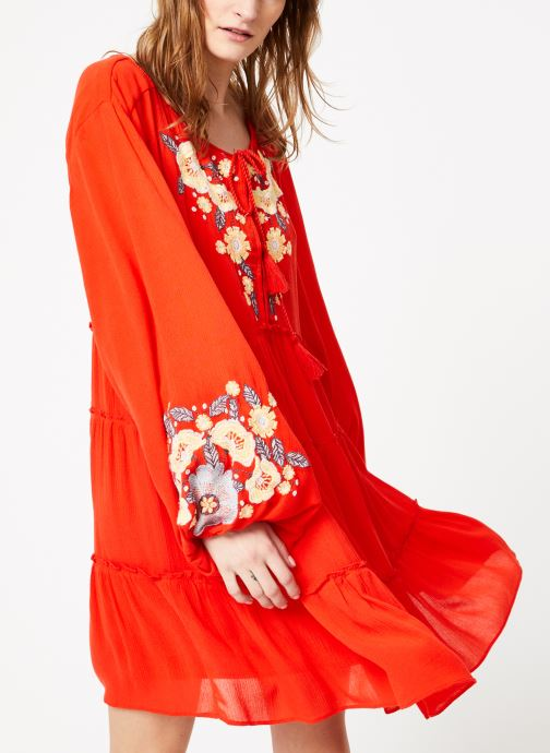 Vêtements Free People SPELL ON YOU EMB MINI Rose vue droite