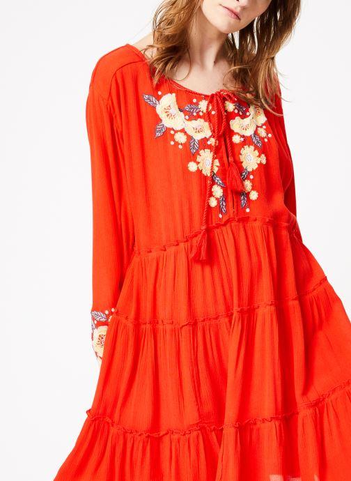 Vêtements Free People SPELL ON YOU EMB MINI Rose vue détail/paire