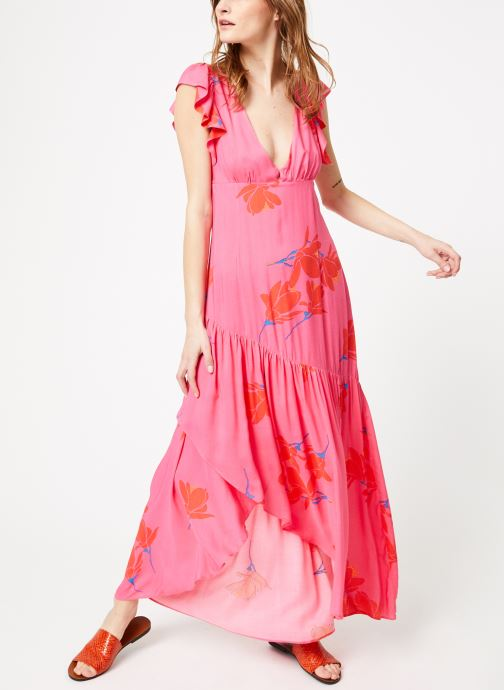 Tøj Free People SHE'S A WATERFALL MAXI Pink se forneden